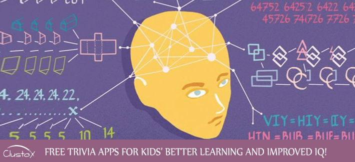 TRIVIA APPLICATIONS FOR IMPROVED IQ OF KIDS!